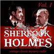 The New Adventures of Sherlock Holmes, Vol. 1: Vintage Classic Mystery Radio
